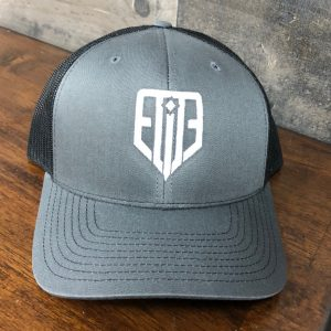 Elite Logo Hat Gray/Black Snap-Back