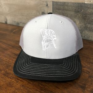 Elite Trojan Hat Gray/Black Snap-Back
