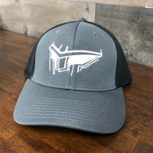 Trojan Hat Black/Gray Flex-Fit