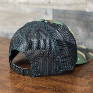 Elite Trojan Hat Camo/ Black Snap-Back