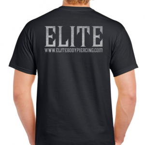 Elite T-Shirt Logo Black
